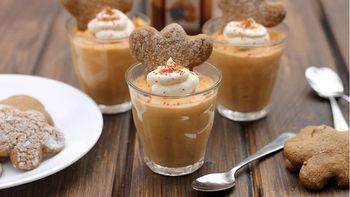 Gingerbread Pudding Shots
