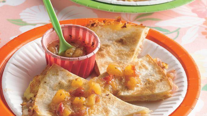Hawaiian Appetizer Quesadillas