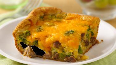 Sausage, Corn and Broccoli Bake