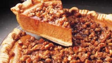 Praline Pumpkin Pie