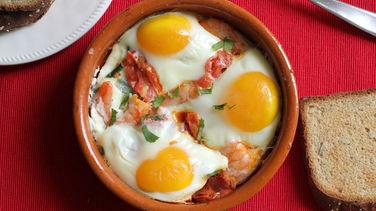 Huevos a la Malagueña