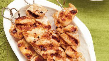 Moroccan Chicken Kabobs