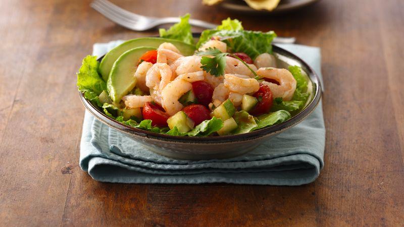Chipotle Shrimp Ceviche Salad