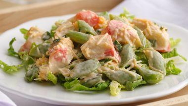 Spicy Coconut-Surimi Salad