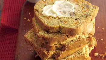 Ginger-Carrot-Nut Bread