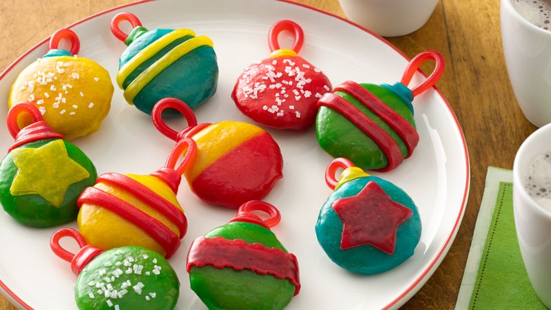 No-Bake Holiday Cookie Ornaments
