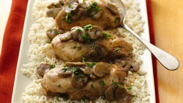 Slow-Cooker Chicken Marsala