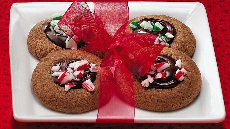 Espresso Thumbprint Cookies