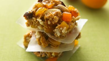 Apricot Almond Energy Bars