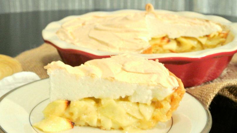 Pastel de Manzana con Merengue