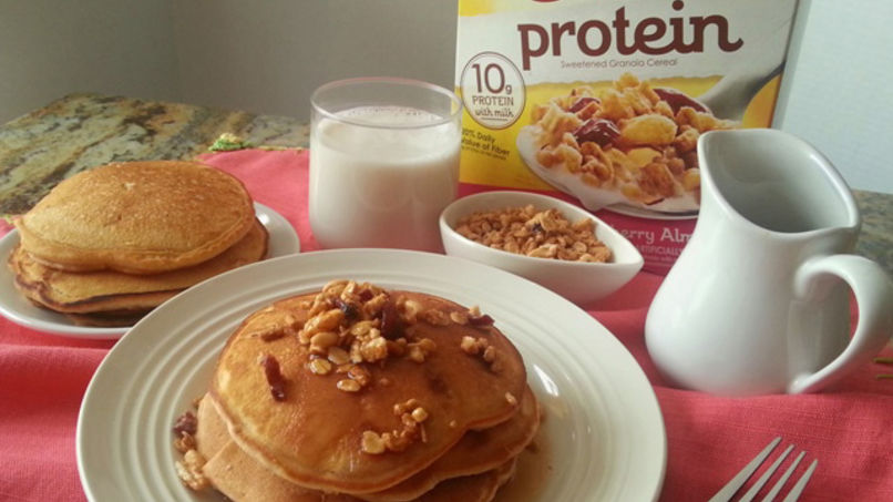 Pancakes con Cereal Fiber One® Protein