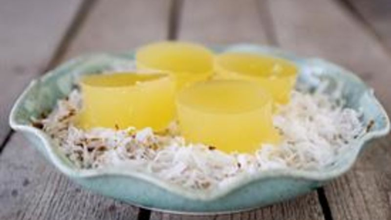 Pineapple Coconut Jello Shots