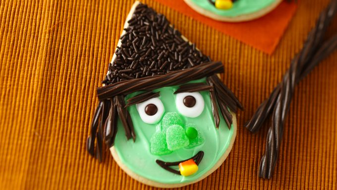 Cute Witch Cookies