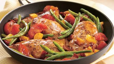 Easy Chicken and Garden Veggies