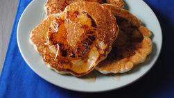 Roasted Pineapple Pancakes