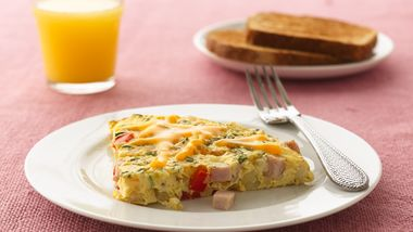 Gluten-Free Canadian Bacon and Potato Frittata
