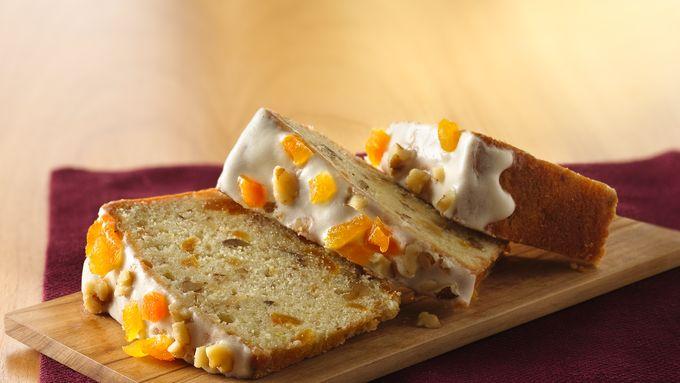 Walnut-Apricot Pound Cake