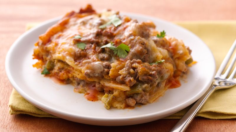 Slow-Cooker Layered Enchilada Dinner