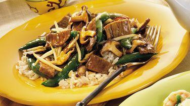 Teriyaki Beef and Mushrooms