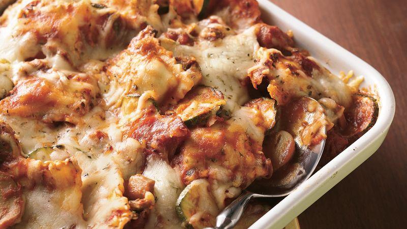 Sausage Ravioli Casserole