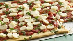 Hearts of Palm Pizza
