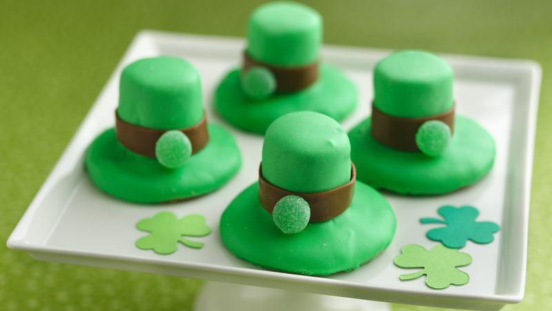 Skinny Leprechaun Hat Cookies