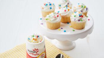 Birthday Cake Yogurt Cup