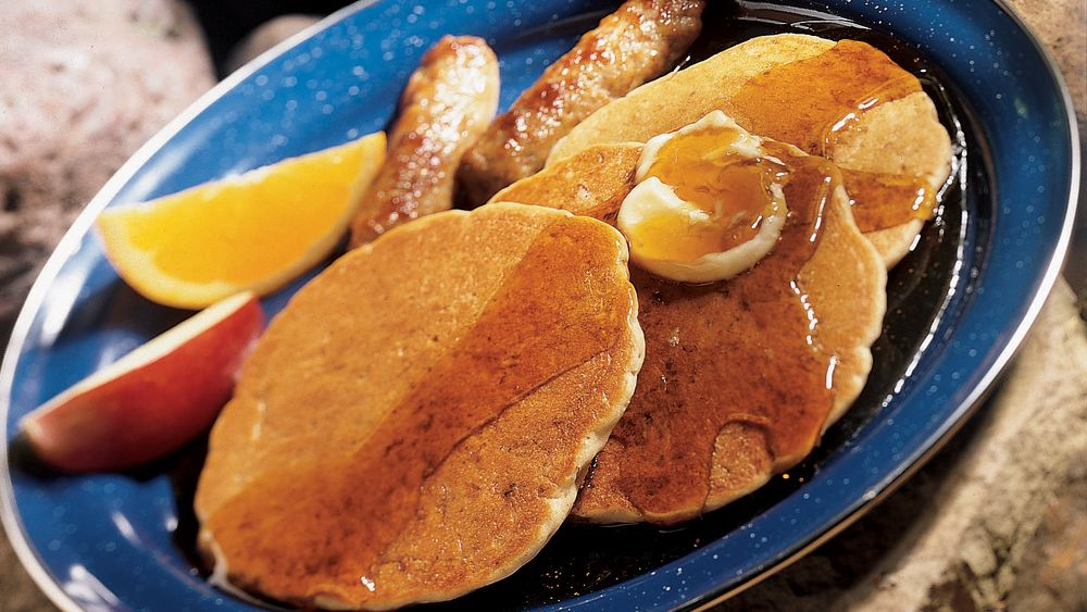 Granola Griddle Cakes