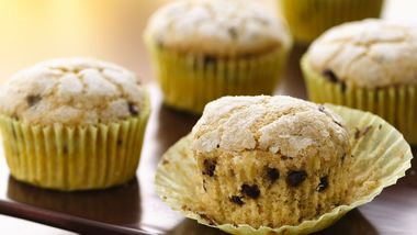 Chocolate Chip Banana Muffins (White Whole Wheat Flour)
