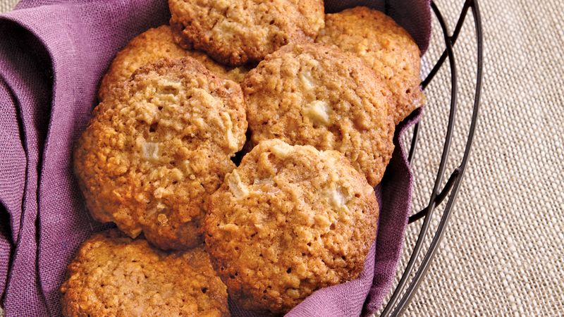Oatmeal Pear Toffee Cookies