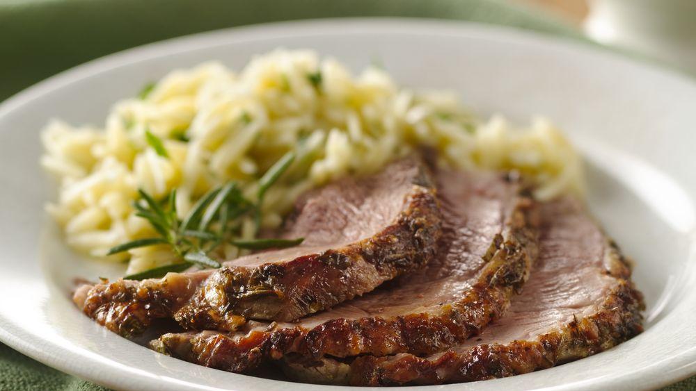 Herb and Garlic Roast Leg of Lamb