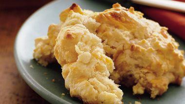 Big-Batch Cheese-Garlic Biscuits