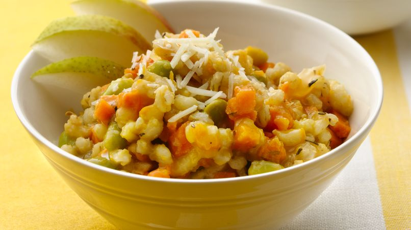 Sweet Potato and Barley Risotto