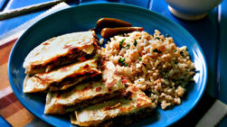 Carne Mechada Quesadillas