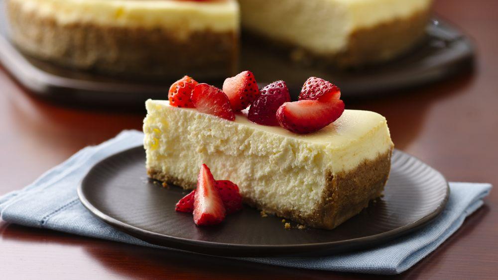 Divine Yogurt Cheesecake