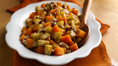 Baked Butternut Squash with Apples
