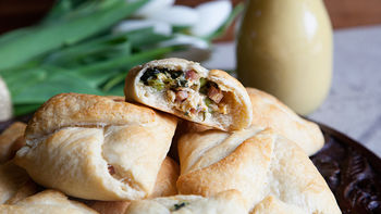Honey-Mustard Chicken Pockets