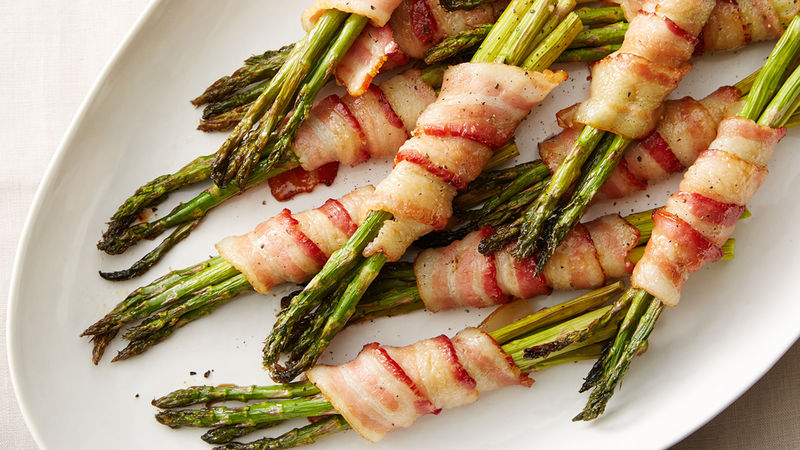 Bacon Wrapped Asparagus Recipe From Tablespoon