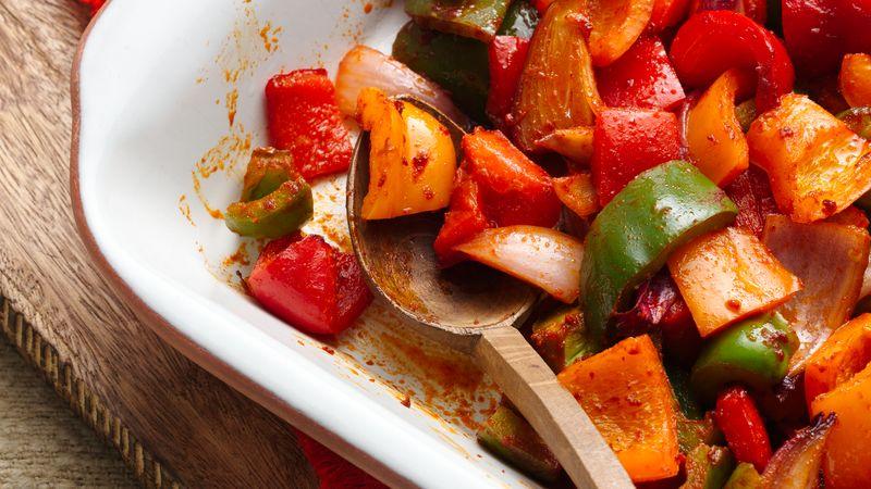 Seasoned Oven Roasted Veggies