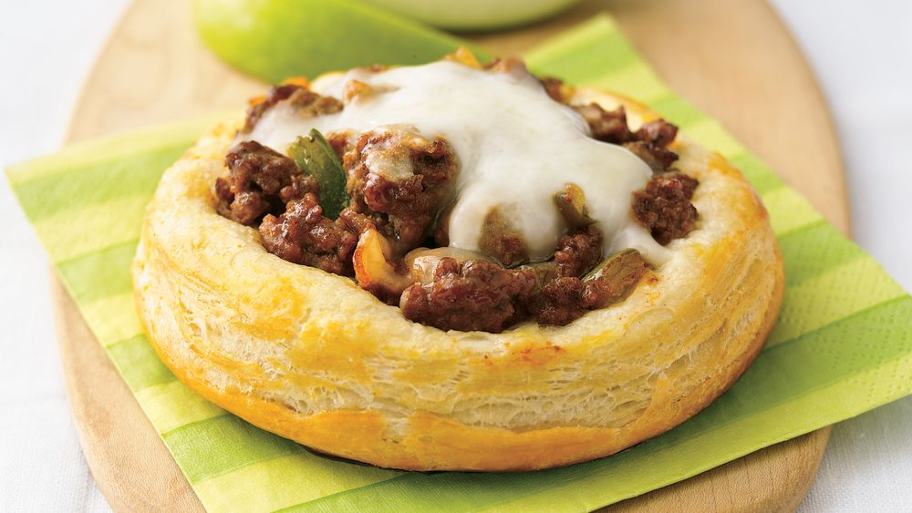 Sloppy Joe Biscuit Rounds