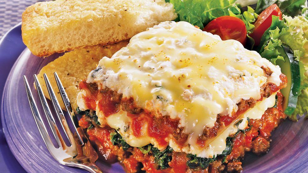 Quick-Fix Lasagna