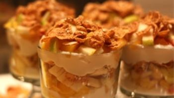 Fruit and Grain Parfaits