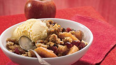 Cinnamon Apple Berry Crisp