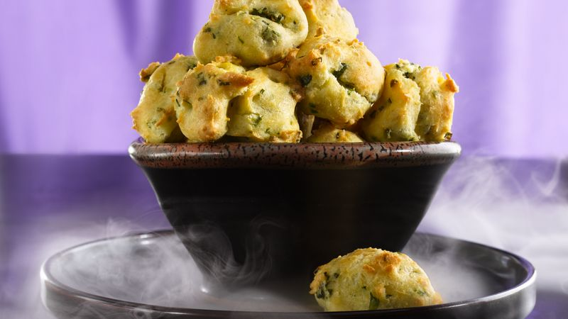 Fluffy Herbed Appetizer Puffs