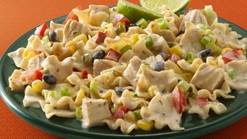 Chipotle Ranch Chicken and Pasta Salad