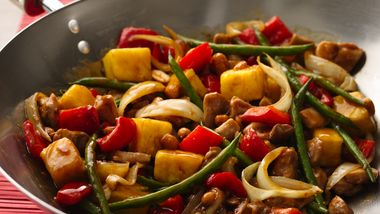 Sweet and Spicy Stir-Fry Chicken