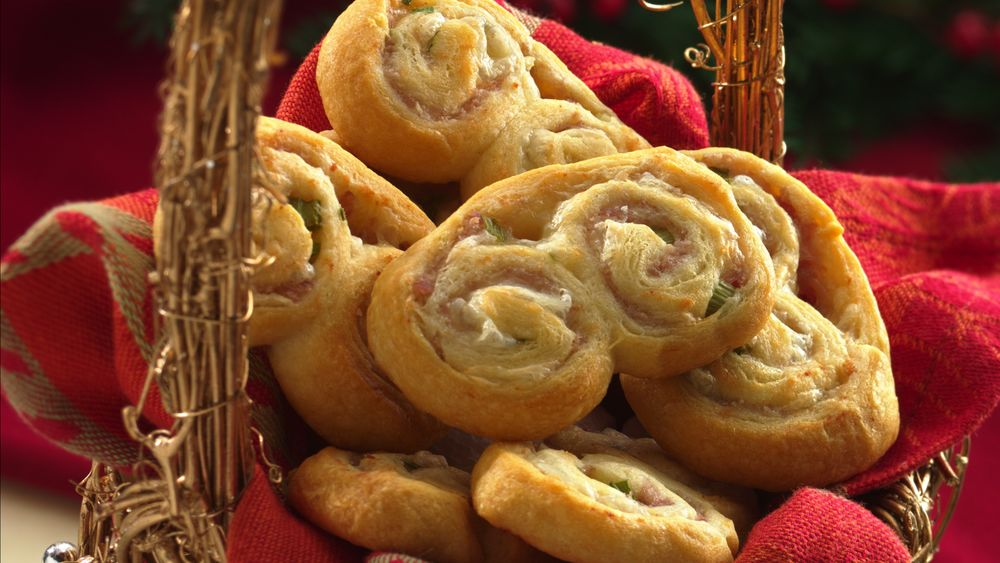 Ham and Swiss Double Pinwheels