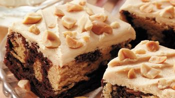 Peanut Butter Ripple Brownies