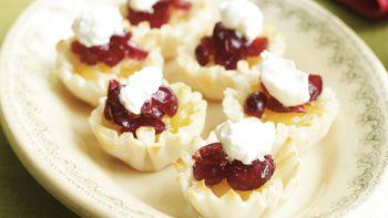 Cherry-Cranberry Tartlets