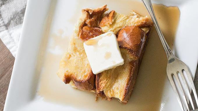 Irish Cream French Toast Bake